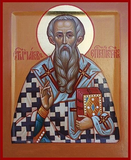 """Результат пошуку зображень за запитом """"Житіє преподобного отця нашого та ісповідника Якова, єпископа"""""""