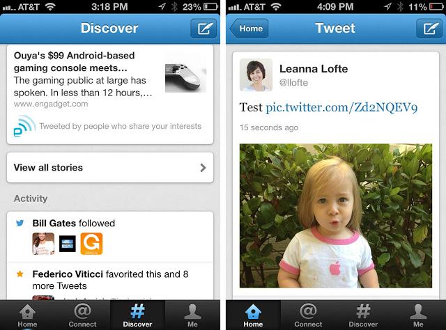 تطبيق تويتر للأيفون والأيباد مجاناً