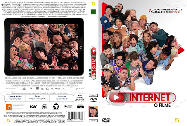 Capa DVD Internet O Filme [Custom]