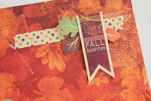 Fall Time Layout by Juliana Michaels detail