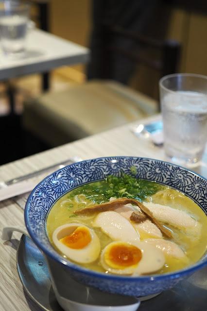 Ramen Gallery Takumen Hajime — $13.90 (regular), $15.80 (with flavoured egg)