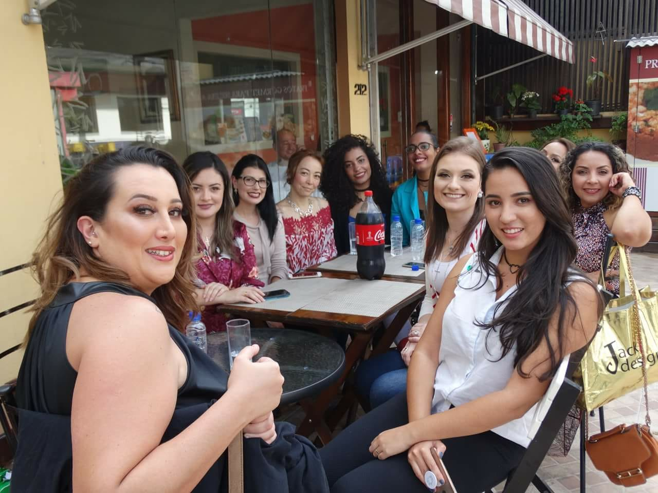 1º almoço de influenciadores na Vila Olímpia do influencersconecta