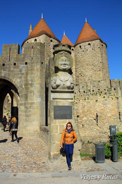 Doña Carcas, Carcassonne