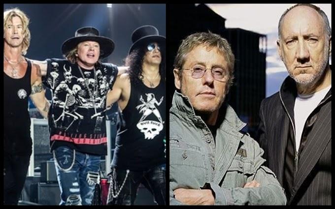 GUNS N' ROSES y THE WHO podrían tocar juntos en Argentina. ¿Fecha confirmada?