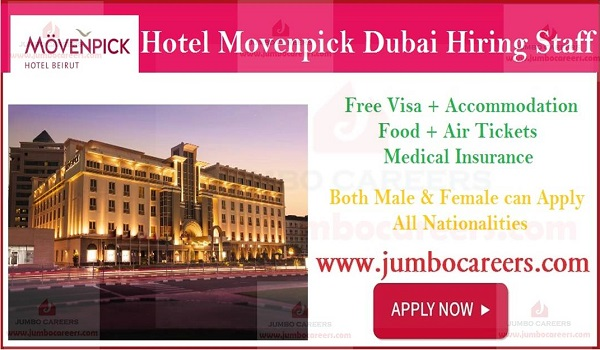 Current hotel jobs in Dubai, UAE latest hotel job openings with salary and benefits,