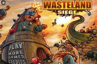 Wasteland Siege Defense Games