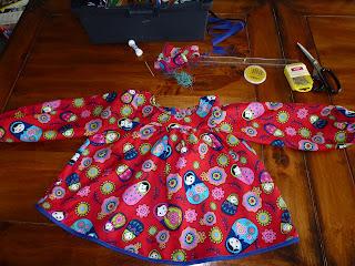 robe enfants burda addicts magazine patron couture août 2008 august children kids sewing pattern
