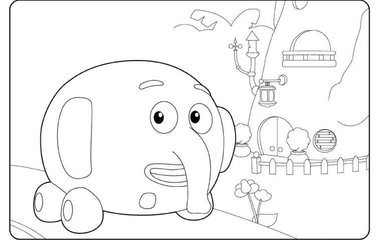 Juegos Dibujos Para Colorear De Disney Junior: Disney Junior Personajes Para Colorear