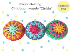 "Ebook ""Christbaumkugeln CHRISTA"""