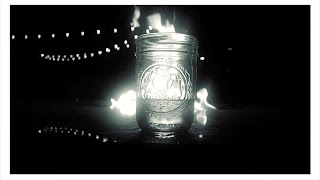 whiskey chick mason jar bourbon campfire Colorado