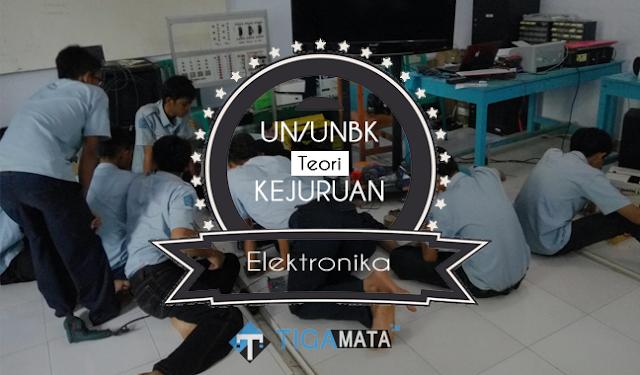 Prediksi Soal UN/UNBK Teori Kejuruan T. Eletronika Industri 2019 dan Jawaban