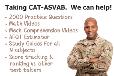 What Should You Do To Pass CAT - ASVAB Exam / Test
