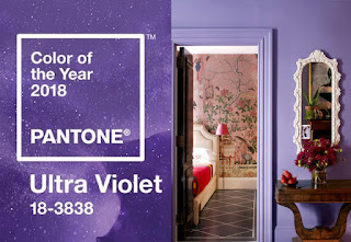 Colore Pantone Dell'Anno 2018 - Ultra Violet 18-3838