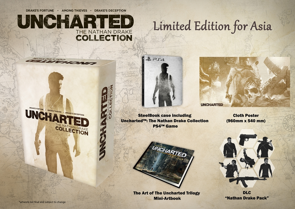 Dr Jengo S World Uncharted Nathan Drake Collection Asia Exclusive Limited Edition