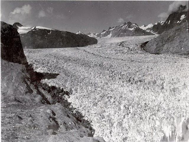 Muir Glacier, Alaska, 13 August 1941 worldwartwo.filminspector.com