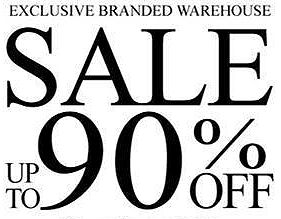 Exclusive Branded Warehouse Sale 2017