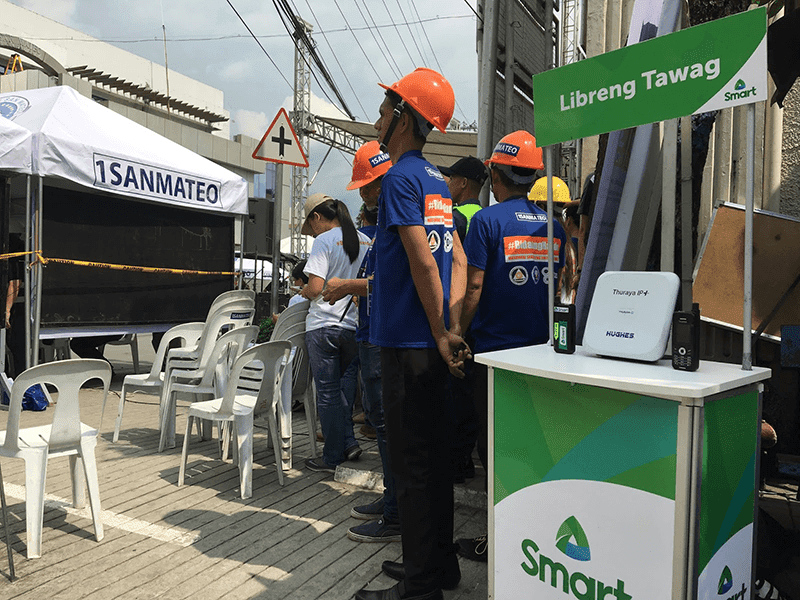 Smart provides emergency communications support at Rizal quake drill