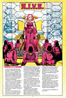 La Colmena Ficha DC comic