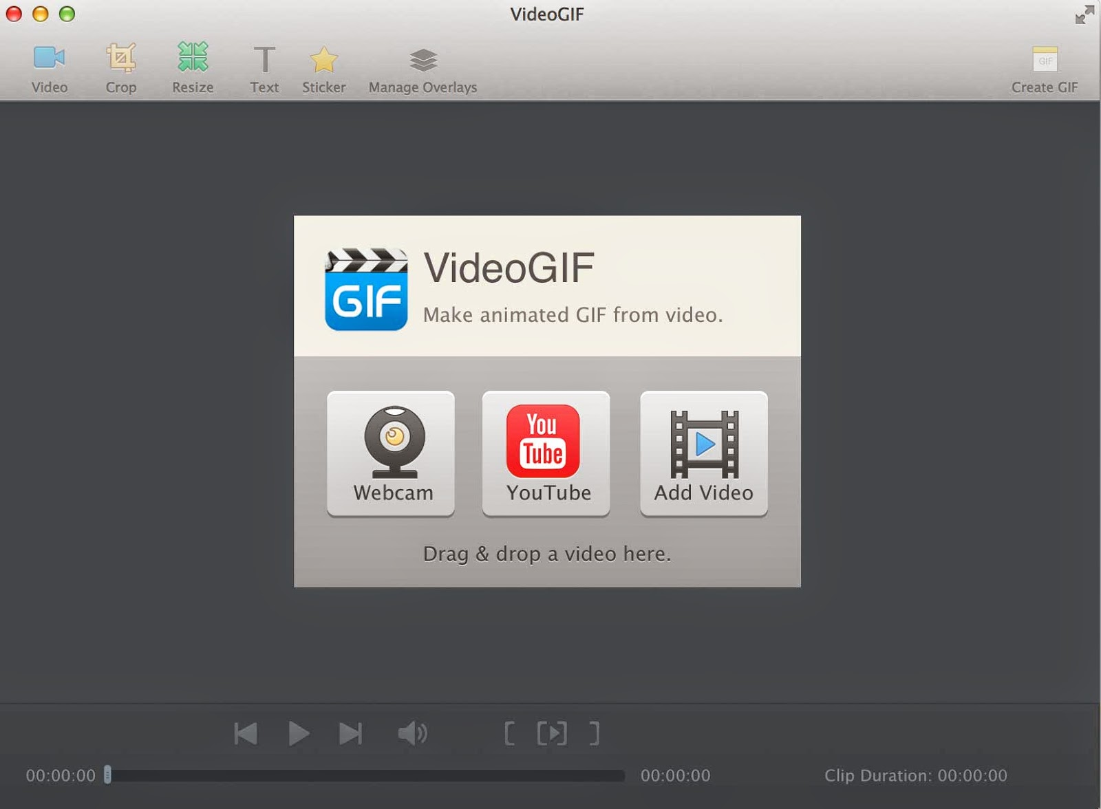 videogif mac home screen