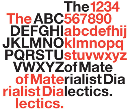 Tueday Typefaces: Helvetica | Center for Book Arts