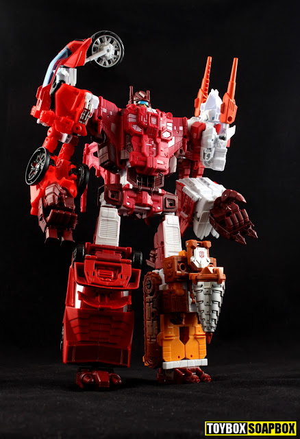 unite warriors computron hands feet