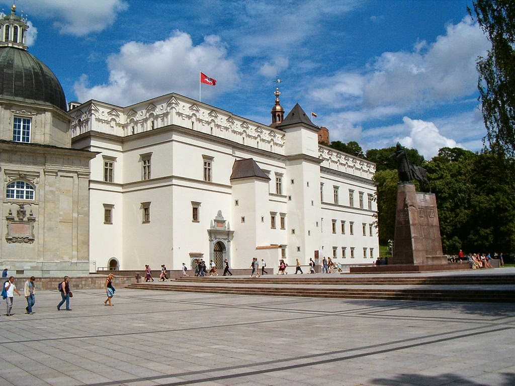 Backpacking to Vilnius in Lithuania