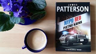 """Zawsze można się obłowić, czyli recenzja """"Piętna Kaina"""" Jamesa Pattersona & Marshalla Karpa. NYPD RED część 3."""
