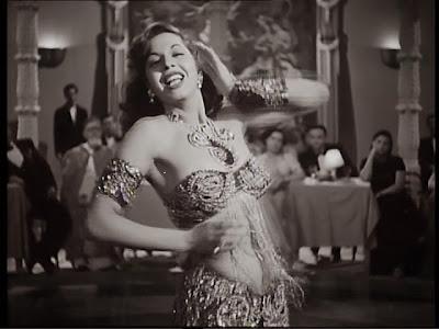 bailarina nacional de egipto, la fabulosa samia gamal, disociando infinitos