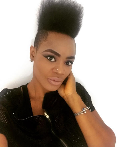 Again, fans show displeasure over Uche Ogbodo's new look