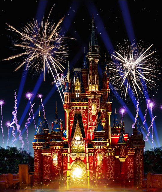 Show de fuegos artificiales en Magic Kingdom