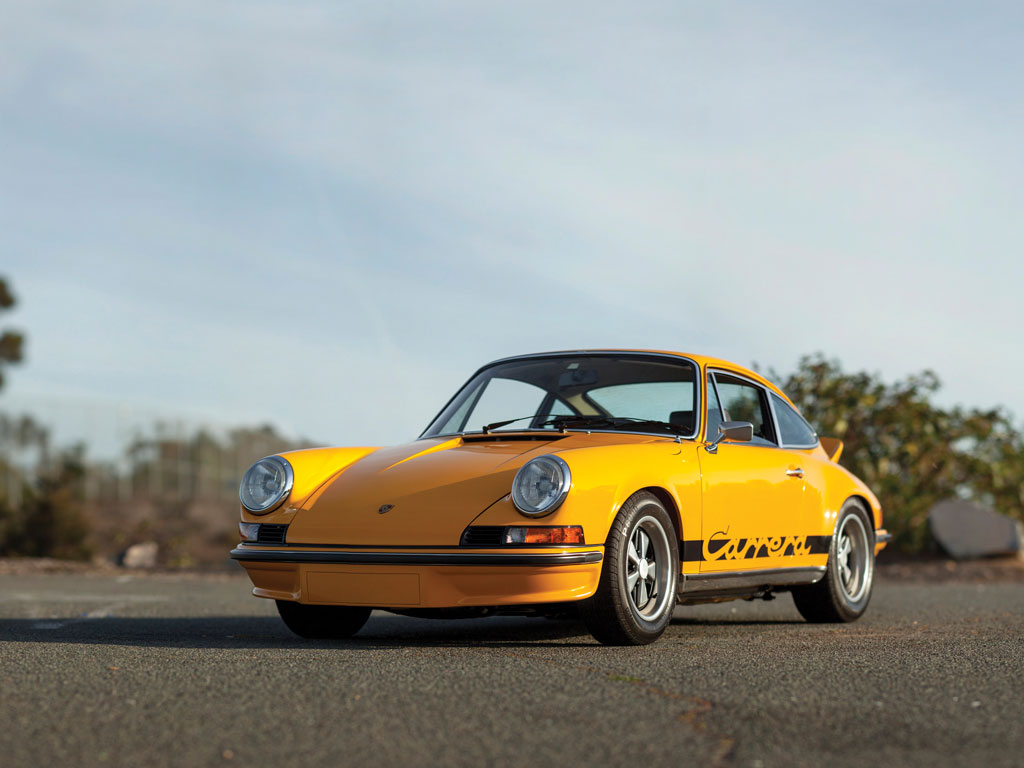 1973 Porsche 911 Carrera Rs 2 7 Touring Sold At Rm Sothebys For Usd 918 500
