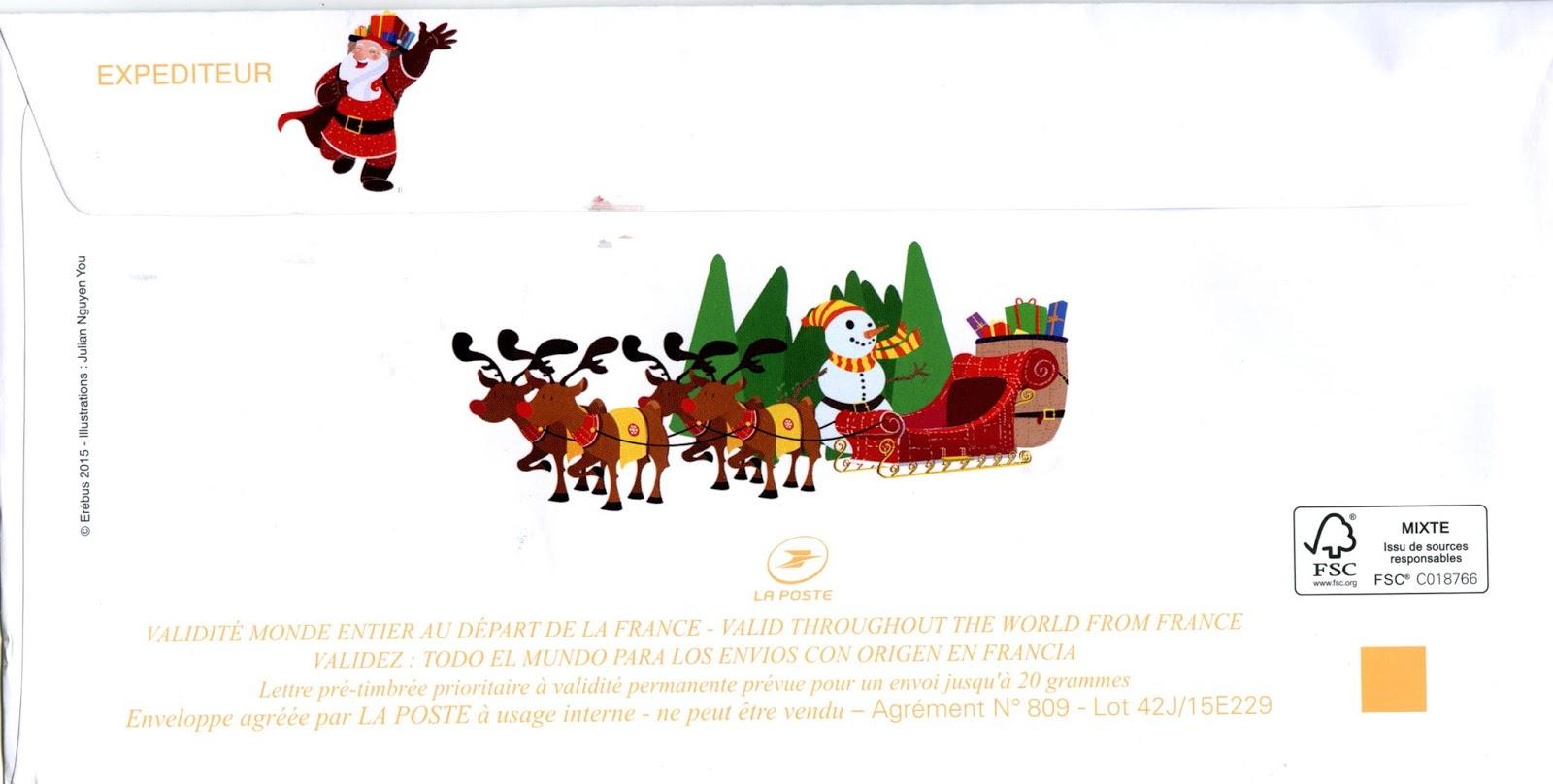 La Poste Lettre Aux Pere Noel.Lettre Au Pere Noel La Poste