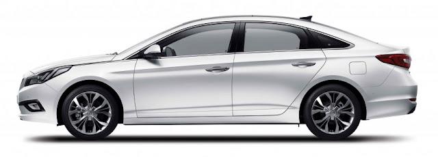 "Hyundai Sonata với thiết kế lazang 18"" lớn"