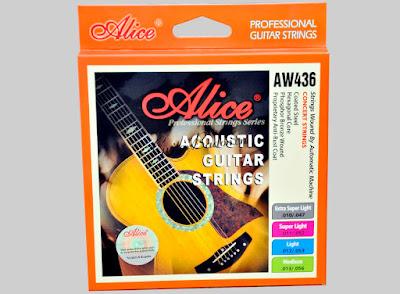 Cách chọn dây đàn guitar acoustic tốt nhất