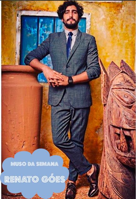 Renato Góes, o Santo (jovem) da novela Velho Chico  é o muso da semana - foto: Instagram/reprodução