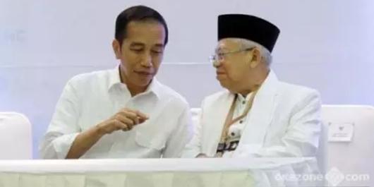 Ma'ruf Amin: Tak Ada Survei Sebut Prabowo-Sandi Menang!