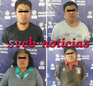 """Cae el brazo armado de """"Los Lalo"""" junto con otros 3 en Nogales Veracruz"""