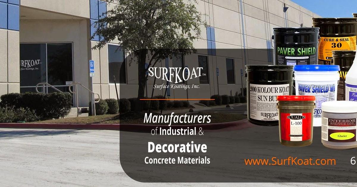 Surfkoat Concrete Sealer Products Best Concrete Sealers