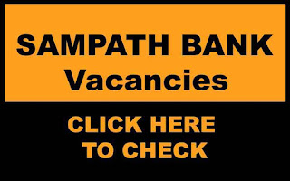 Sampath Bank Vacancies (Careers) image