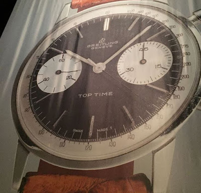 "Vintage Breitling Top Time with Breitling ""8"" logo"