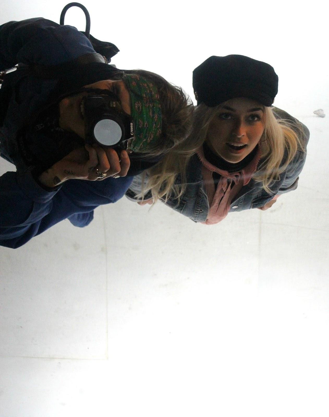 Mirror Picture in the Barbican