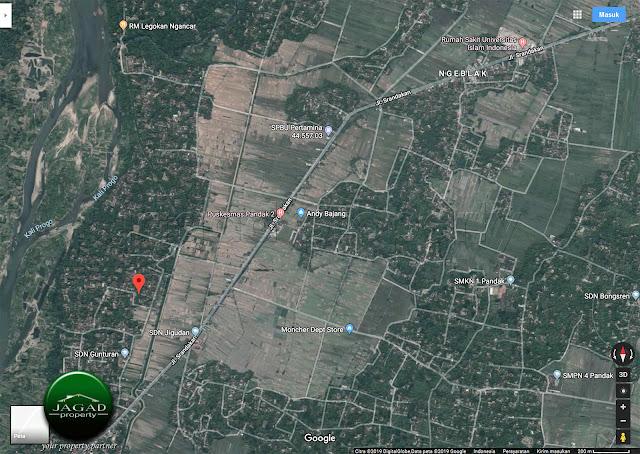Tanah Kavling dekat RS UII Bantul