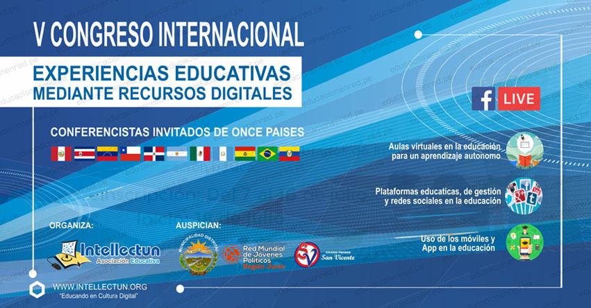 Realizan conferencias magistrales de once países invitados «Experiencias Educativas Mediante Recursos Digitales»