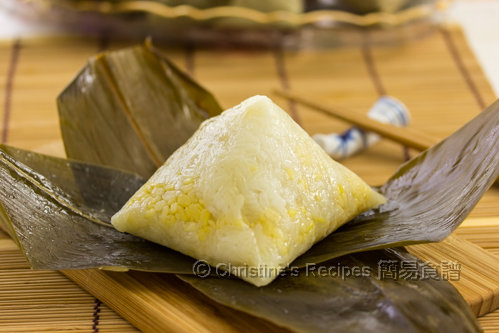 五角鹹肉糭 Cantonese Sticky Rice Dumpling02