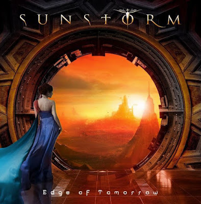 Sunstorm - Edge Of Tomorrow - cover album - 2016