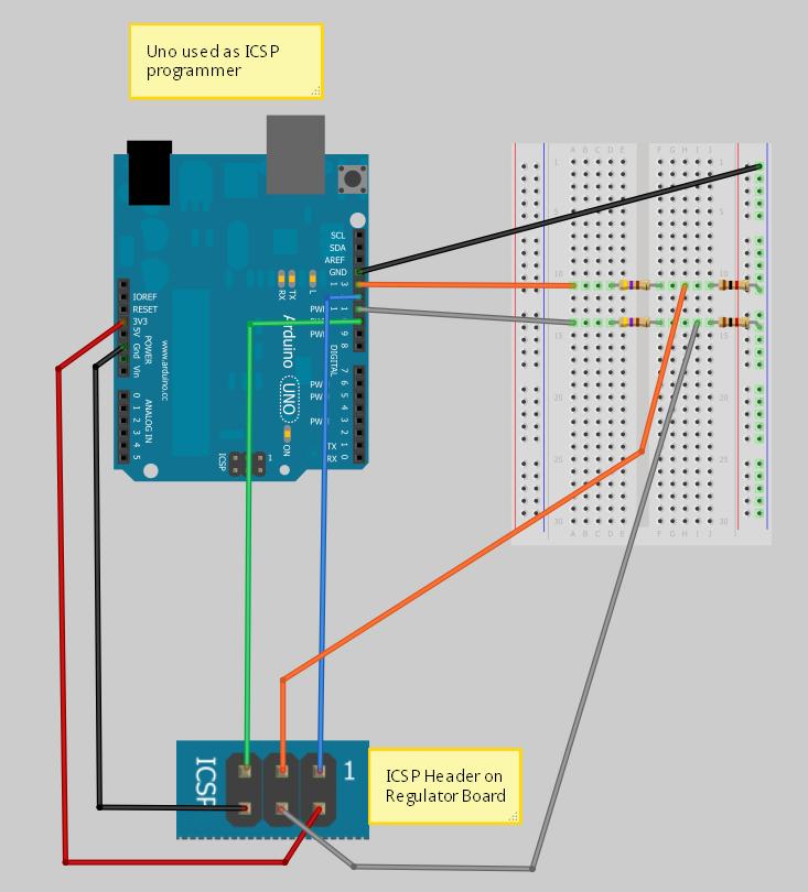 Vsr alternator regulator v boot loader for arduino