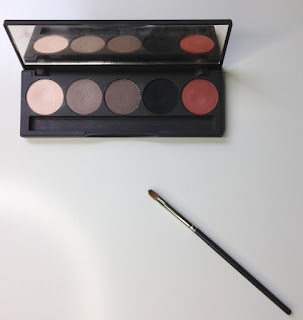 Louise Young Essential Eye Palette open
