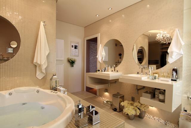 Inspirações de banheiros de luxo