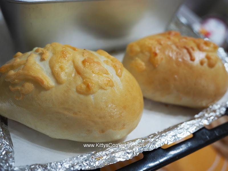 Curry potato bread 咖哩薯腸仔包 自家烘焙 食譜 home baking recipes