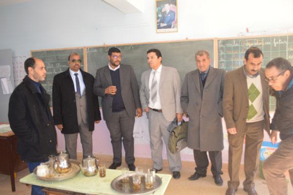 يوم تكويني لأساتذة مجموعة مدارس تكرورين مديرية بركان حول استعمال حقيبة اللوحات اللمسية